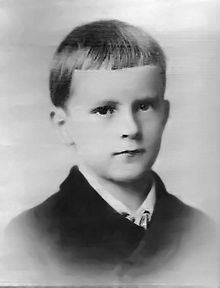 Carl Jung as a child
